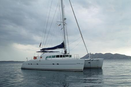 Sailing in Italy Roma, Lagoon 470